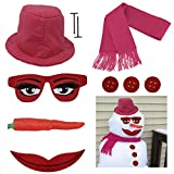 Evelots 'Lady' Snowman Kit - New Design for 2017 - 10 Pieces Included
