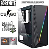 JOYBE - Ordenador Gaming SOBREMESA JOYBE MCX RYZEN 3 2200G SSD 240GB + HDD 1TB 8GB DDR4 Grafica Radeon Vega 8 Windows 10 Pro Juegos