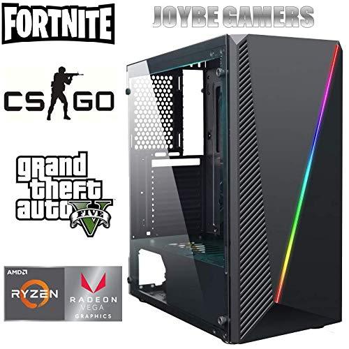 JOYBE - Ordenador Gaming SOBREMESA JOYBE MCX RYZEN 3 2200G