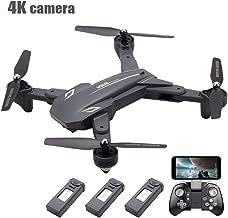 FCONEGY FPV Drohne mit 1080P HD Kamera RC Quadcopter H/öhenlage Halten durch Luftdruck EIN Schl/üssel Abheben Landen Hubschrauber Mobiltelefon Fernmodell Flugzeug mit LED Nachtlicht