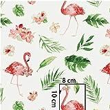 Pingianer 11,99 €/m Flamingo 100% algodón tela de algodón para niños se vende por met...