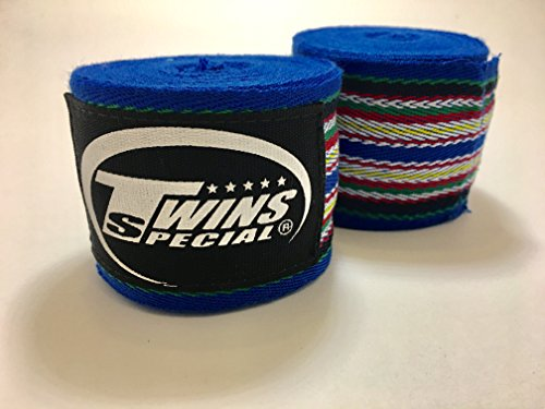CH-2 Twins Special Rainbow Hand wraps Protector (Black)