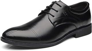 XIGUAFR Chaussure a Lacet de Travail de Grande Taille au Loisir pour Homme Basse Chaussure en Cuir d'affaire Commercial Ha...