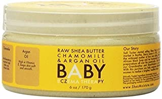 Raw Shea Chamomile and Argan Oil Baby Therapy by Shea Moisture for Kids - 6 oz Moisturizer