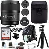 Sigma 35mm f/1.4DG HSM Objectif pour Appareil Photo Canon DSLR + 32Go Deluxe Kit...