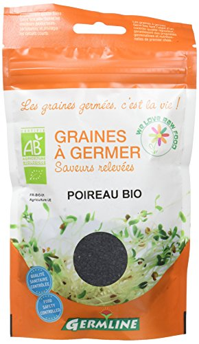 Germ'Line Graines Poireau à Germer 50 g - Lot de 2