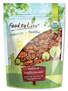 Organic Dried Golden Berries 8 Ounces - Non-GMO Kosher Raw Vegan Bulk