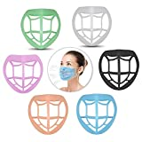 FanLe Paquete de 6 Soportes para mascarilla para un Uso cómodo, máscara Suave 3D, Soporte Interno, M...