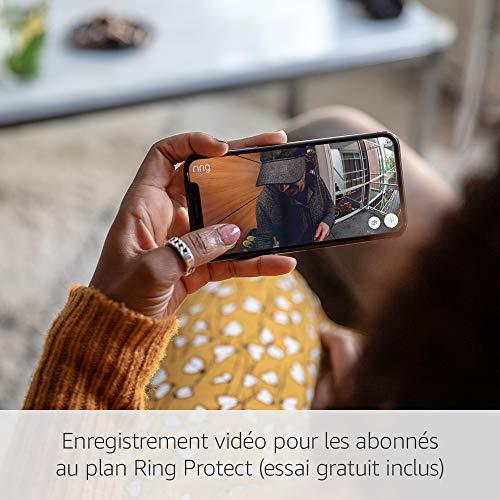 Sonnette sans fil vidéo Ring Door View Cam HD 1080 2
