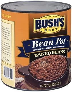 Bush's Best Bean Pot Baked Beans - 117 ounces (7 lb-5 oz) Can