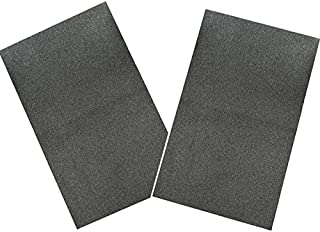 IZO Home Goods 2 Pack A/C Filter Replacement Air Conditioner Foam Filter, 24-inch by 15-inch by 1/4-inch