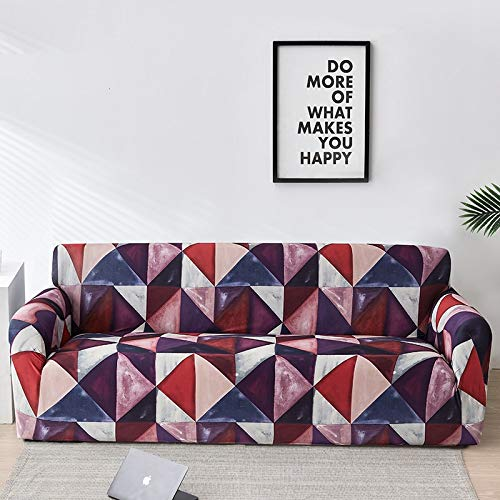 Funda de sofá con diseño de Flor de melocotón, Fundas de sofá elásticas elásticas para Muebles de Sala de Estar, Funda de sofá A3, 2 plazas