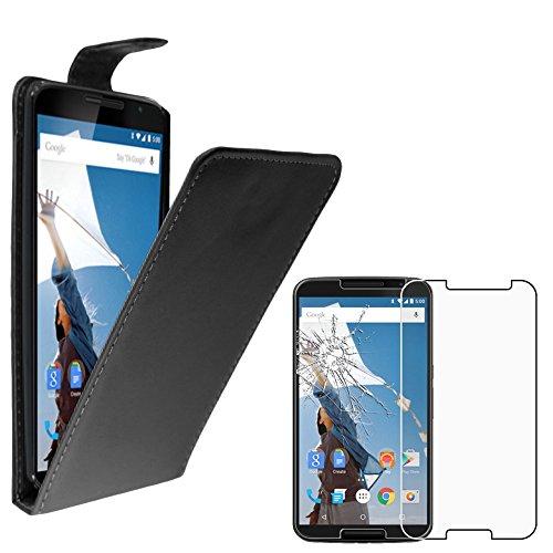 ebestStar - Funda Compatible con Motorola Nexus 6, Nexus X Carcasa Abatible...