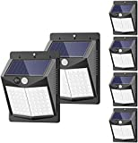 Solar Lights Outdoor, [6 Pack/3 Modes/50LED] SEZAC Motion Sensor Security Lights...