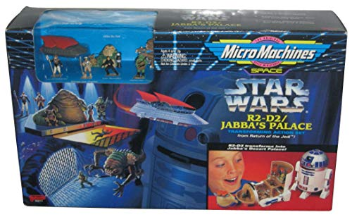 Star Wars MicroMachines Transforming Action Set R2-D2/ Jabba's Palace