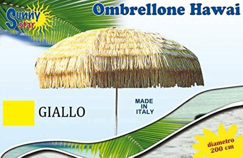 C&C OMBRELLONE HAWAI GItuttiO DIAMETRO 200 CM MARE IDEA REGALO STC0821