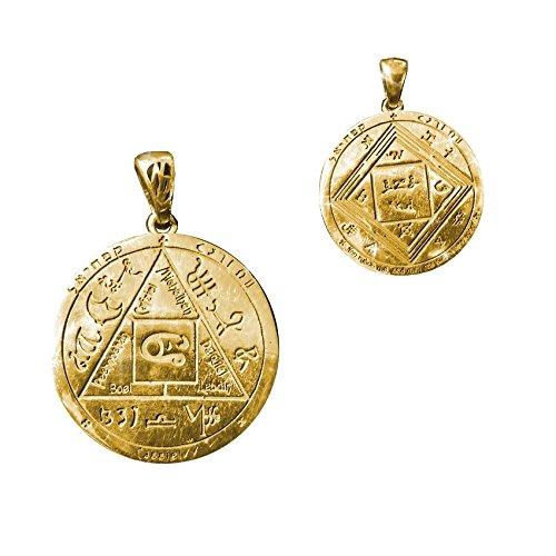 Talisman superar las dificultades (3) plata y oro