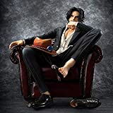ZYBZGZ Bellamente One Piece Action-Figur Ace 16CM-Modern Anzug Sofa-Statue Dekoration Modell Anime-C...