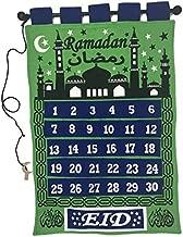 Green Ramadan Tracker/Count Down Ramadan Calendar