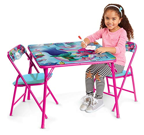 Review Of Trolls Activity Table Set with 2 Chairs