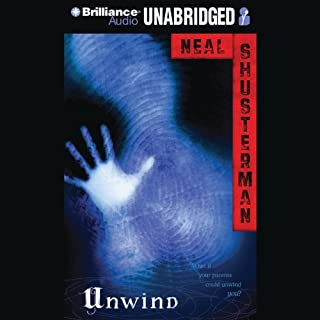 Unwind audiobook cover art