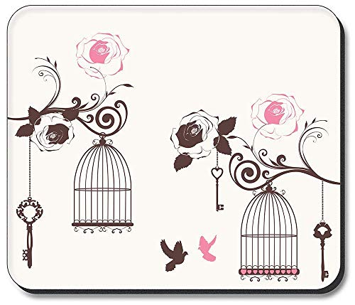 Thick Mouse Pad Bird Cages
