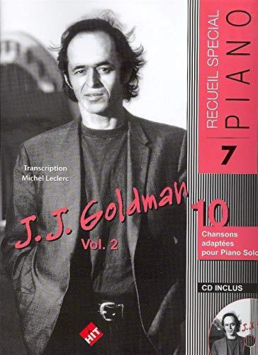 Goldman : Spécial Piano n° 7 (+ 1 cd)