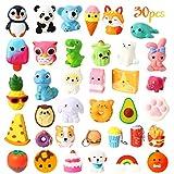 WATINC 25Pcs Jumbo Squeeze Toy and 5Pcs Mini Food Squeeze Cream Scented Panda...