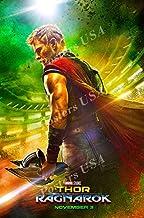 "Posters USA - Marvel Thor Ragnarok Movie Poster GLOSSY FINISH - FIL126 (24"" x 36"" (61cm x 91.5cm))"
