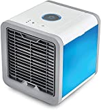 aire acondicionado apartamento, Aire acondicionado Móvil, Mini USB Aire acondicionado de aire del refrigerador portátil Aire acondicionado 7 colores Luz de escritorio de aire de refrigeración de aire