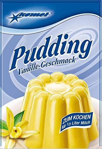 Komet Puddingpulver - Vanille (5 x 40g)