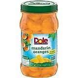 DOLE Mandarin Oranges in 100% Fruit Juice, 23.5 Ounce Jar