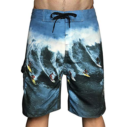 LINSID Trajes de baño para Hombres Shorts de baño Trunks Shorts de Playa Pantalones Cortos de natación Trajes de baño Hombres Running Sports Surffing Shorts Hombre