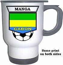 Bruno Ecuele Manga (Gabon) Soccer White Stainless Steel Mug