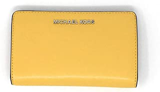 Michael Kors Jet Set Travel Women's Slim Bifold Leather Wallet