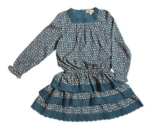 VITIVIC Austria Fondo Azul Robe, 10 Ans Bébé Fille
