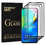 VGUARD 3 Stücke Panzerglas Schutzfolie für Motorola Moto G8 Power, [Volle Bedeckung] Panzerglasfolie Folie Hartglas Gehärtetem Glas BildschirmPanzerglas für Motorola Moto G8 Power