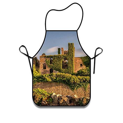N\A Clifden Castle Geschenke für Männer, Frauen, Papa, Mama | Küchenschürzen Chef Lätzchen zum Kochen Grillen Backen BBQ