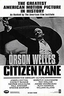 Citizen Kane - Authentic Original 27x40 Rolled Movie Poster