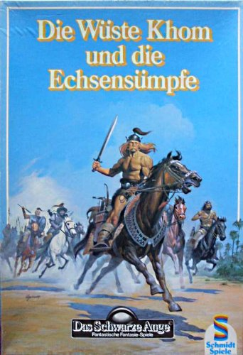 DSA BOX: Die Wüste Khom und die Echsensümpfe, Schmidt Spiele, No. 01772 (Das schwarze Auge)