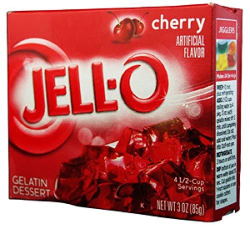 Jello Gelatina Ciliegia - 85 g
