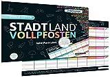 DENKRIESEN - Stadt Land VOLLPFOSTEN - JUNIOR Edition - Für Kinder und Jugendliche