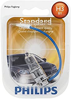 Philips H3 Standard Halogen Headlight Bulb (Pack of 1)