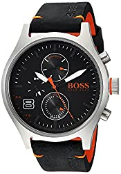 HUGO BOSS Men's Amsterdam Stainless Steel Quartz Watch