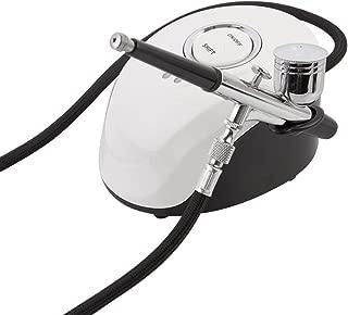 Mini Airbrush Tools Air Brush Kit for Cake Decorating, Professional Airbrush Cosmetic Makeup Airbrush Kit, Multi-Purpose Mini Airbrush Set Air Compressor Kit (White)