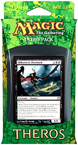 Magic the Gathering Theros Intro Pack - Black (Abhorrent Overlord)