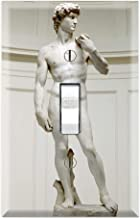Graphics Wallplates - Bibical David by Michelangelo - Single Toggle Wall Plate Cover