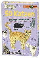 Spielen und Lernen: Das Kartenset enthält neben wissenswerten Fakten über die Katzen und ihr Verhalten viele spannende Quizfragen und ist auch für den Kindergarten und Schulunterricht geeignet. Kompaktes Wissenspaket: Auf 50 Karten wird je eine Katze...