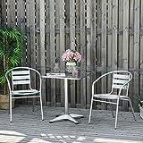 Zoom IMG-2 outsunny set tavolino e sedie
