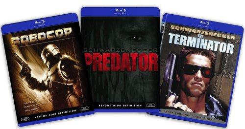Blu-ray Action Bundle Robocop Predator Amazo Kansas City Mall mart - Terminator